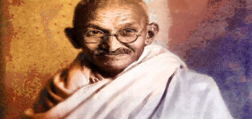 mahatma-gandhi-painting-photos